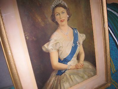 Portait of  H M  Queen Elizabeth.