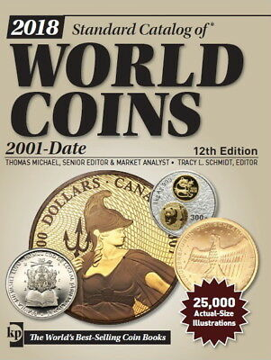 2018 !!! Standard Catalog of World Coins - 2001-Date - 12th edition