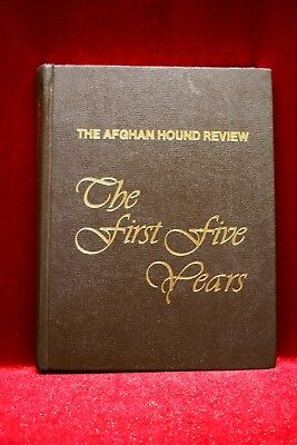 """Afghan Hound Review Magazine Book """"The First Five Years"""" An Editorial Collection"""