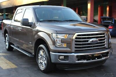 2016 Ford F-150  2016 FORD F-150 ECOBOOST Rebuilder Repairable CLEAN TITLE Damaged Runs&Drives!