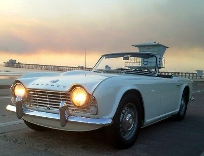 1964 Triumph TR4  1964 Triumph TR4 with factory Overdrive reduced reserve price from 1st auction