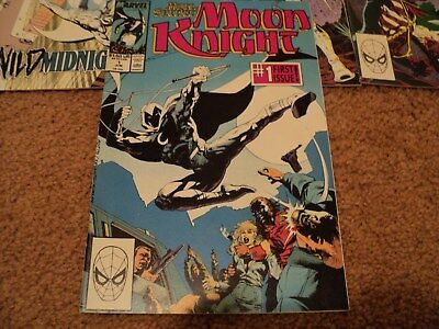 Marc Spector: Moon Knight #1  comic lot issues1-6,8 all in good condition