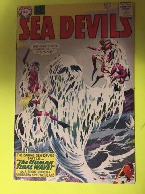 Sea Devils # 7 VF+, CGC Worthy