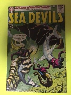 Sea Devils #8 VF+, CGC Worthy
