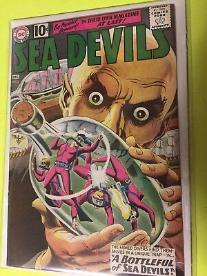 Sea Devils #2 VF - CGC Worthy