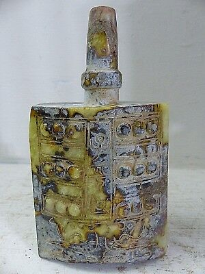 Very Fine Old Archaic Jade Style Temple Bell - Interesting & Rare Example - L@@k