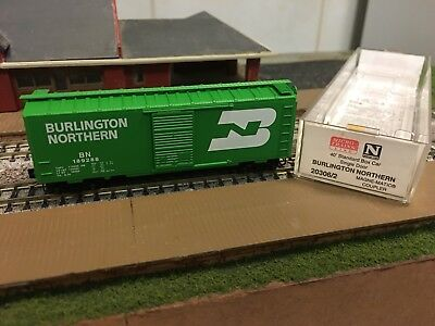 N Scale MTL Burlington Northern 40' Standard Box Cars 20306/2