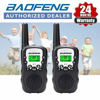 2x BAOFENG BF-T3 Mini Walkie Talkie Two Way radio PMR446 licence Free Black UK