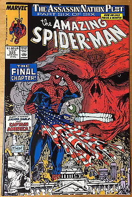 THE AMAZING SPIDER-MAN #325 Todd McFarlane NM 9.2 (Nov.1989 Marvel) Free S&H
