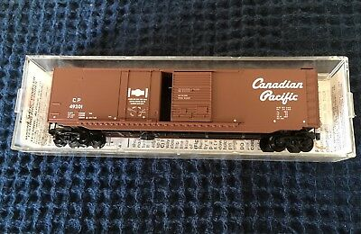 N Scale Micro Train Lines Canadian Pacific 50' Standard Box Car #33140