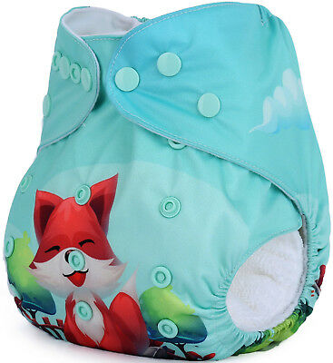 Modern Cloth Nappies Mcn Fox And Mill Shell
