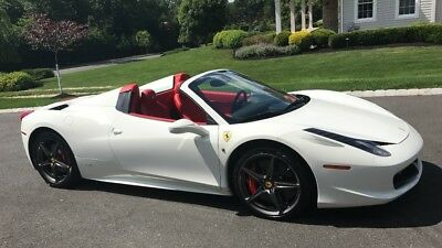 2015 Ferrari 458 Spider LOADED orig. MSRP 342,000