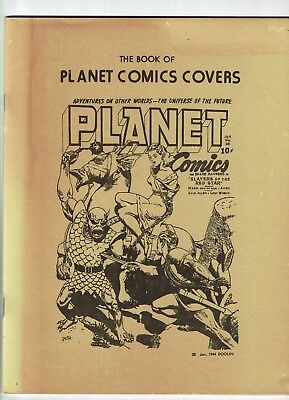 The Book of Planet Comics Covers (Fiction House Fanzine)