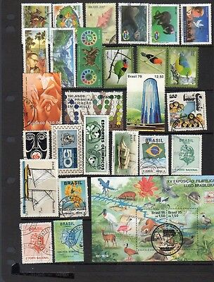26 stamps and mini sheet from Brazil