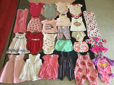 Bulk lot 00 baby girls summer clothes some NWT Boden Patch Sapling Gap Milky