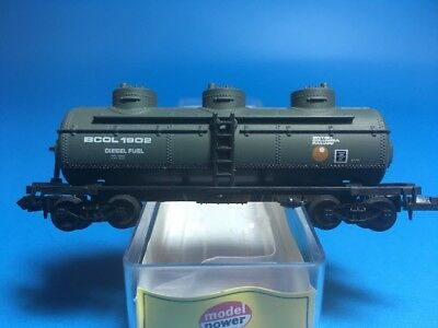 N Scale Model Power British Columbia Railway Diesel Fuel Tank Car