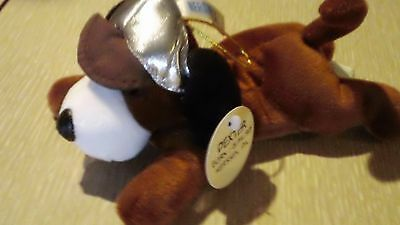 """HERSHEY'S COLLECTIBLE PLUSH DEXTER The BROWN HOUND DOG 8"""""""