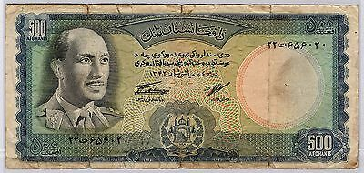 Afghanistan, 500 Afghanis 1967 (Good Condition)