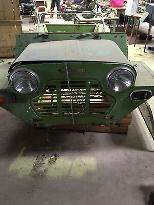 Mini Moke x Two plus motor and lots of parts Rare Find Collectors Car