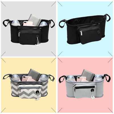 Nappy Storage Basket Diaper Changing Bag Baby Stroller Hanging Bag Convenient