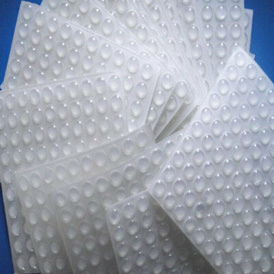 50Pcs Silicone Self Adhesive Bumpers Door Buffer Crash Pad For Cupboard Cabinet