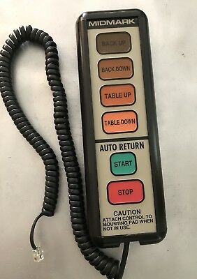 Midmark 405 Hand Control Evaluation For Repair Service
