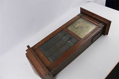 Vintage Hand-Wind 8 Day Clock SPARES&REPAIRS Without Pendulum