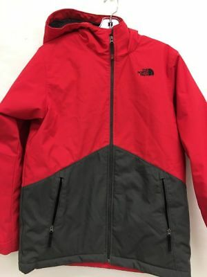 NWD The North Face Boys Apex Elevation Jacket Red/Gray Sz XL (18/20 (BS)