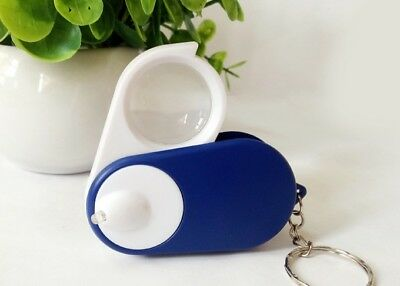 5X Portable Collapsible LED Light High Definition Optical Magnifying Glass *