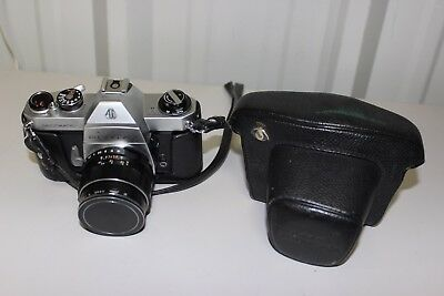 Asahi Pentax Spotmatic SP II W/ Lens - W/ Screw-in Metal Lens Cap