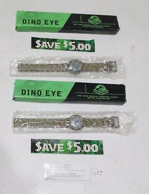 2 Burger King Jurassic Park the Lost World Dino Eye Watch Toy