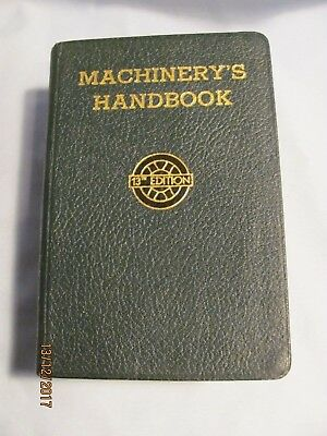 1948 Machinery's Handbook Industrial Press 13th Edition Good Condition.*LOOK*