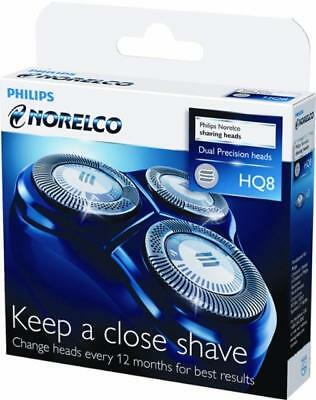 Philips Norelco HQ8 Men's Electric Shaver Replacement Heads---NEW---FREE SHIP---