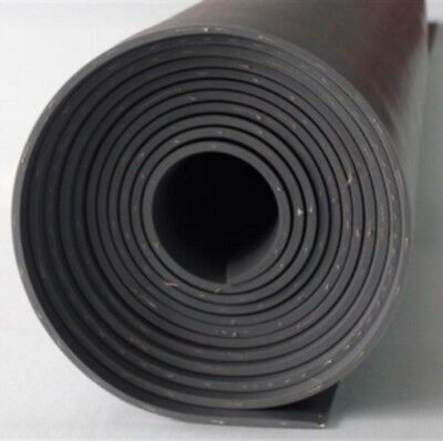 Reinforced Insertion Neoprene Rubber Sheet 1m x 1.4m Various Thicknesses