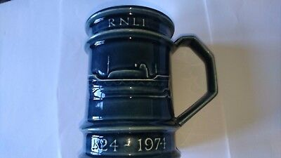 RNLI 1974 150th Annive3rsary Mug by Holkham Pottery- new
