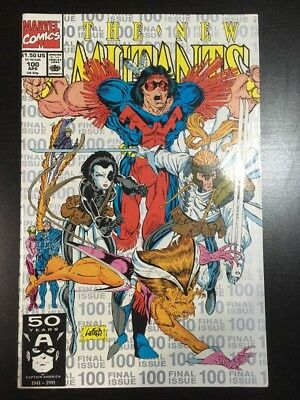 NEW MUTANTS #100 SILVER REPRINT  1ST APPEARANCE/CAMEO X-FORCE VF- 7.5 Grade