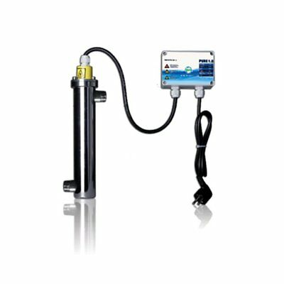 Pure 1.0 - 16W - UVC System for Water Treatment - Pool Pond Drinking Water UV-C