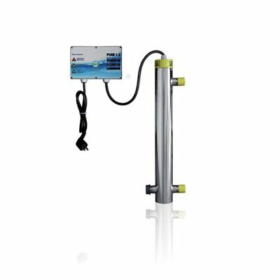 Pure 1.2 - 21W - UVC System for Water Treatment - Pool Pond Drinking Water UV-C