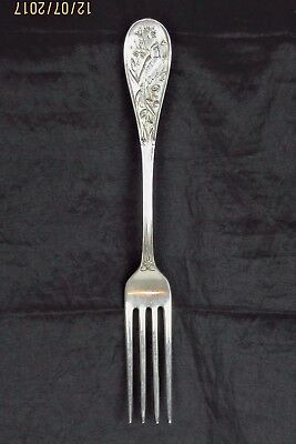 Tiffany & Co Sterling .925 Japanese Luncheon Fork 1871 Very Good Original