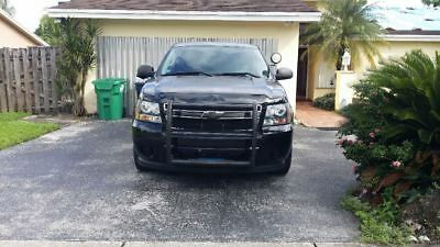 2013 Chevrolet Tahoe Police Pursuit Vehicle 2013 Chevy Tahoe Police Pursuit Vehicle