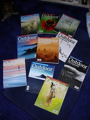 Job lot of Outdoor photography magazines