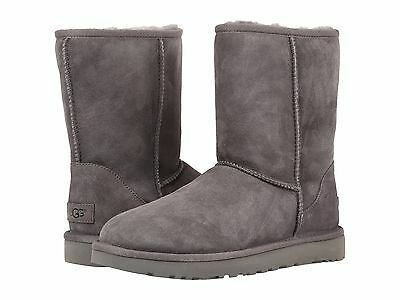 Women's Shoes UGG Classic Short II Boots 1016223 Grey 5 6 7 8 9 10 11 *New*