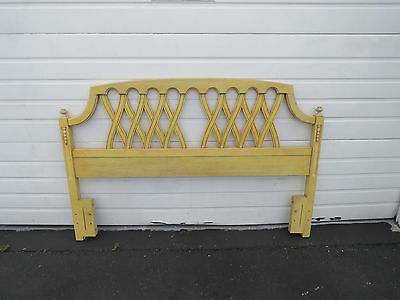 French Full Quees Size Painted Headboard by Basic Witz  8473