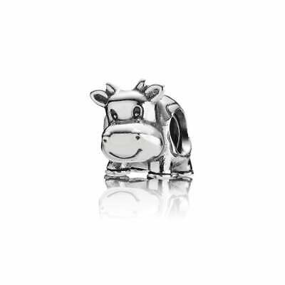 Pandora Cow Charm 790565 - Sterling Silver S925 ALE - Discontinued Charm