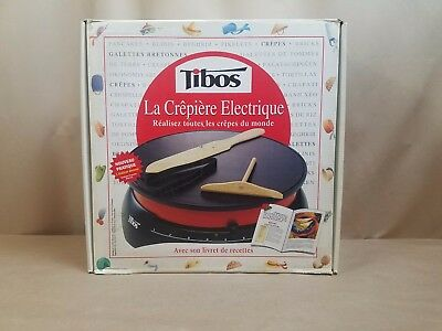 Brand New Krampouz Tibos Electric Professional French Crepe Maker/ Griddle