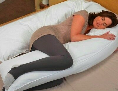 New 12Ft 9Ft Foot Maternity Pregnancy Comfort Pillow & Optional Case