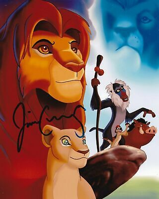 Voice Actor Jim Cummings Signed the Lion King Photo 8x10 COA