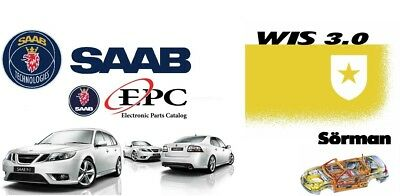 SAAB 9-3 9-5 ,900,9000 EPC Parts Catalog  + Workshop Information System WIS 3.0