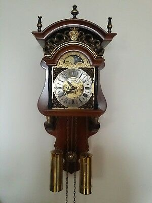 Antique dutch wall clock (Warmink)