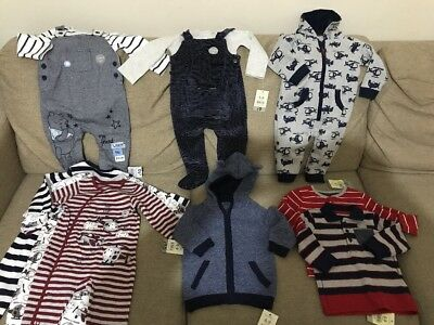 6-9 Months Baby Boys Bundle Clothes New With Tags Disney And George
